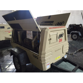 Compresor Portatil Ingersoll Rand 185 Pcm