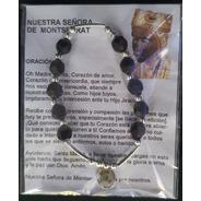 Pack 50 Pulsera Decenario Virgen De Montserrat, Hecha A Mano