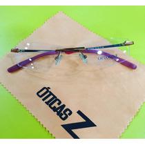 Armação De Óculos Optoline Original -opto3091/3092 - 3 Peças