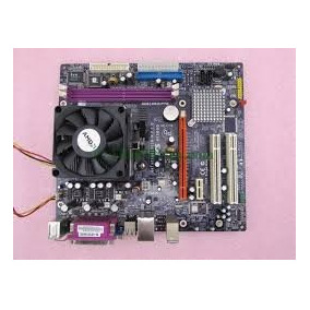 Combo Mother Amd 754 + Micro Atlhon O Sempron + Cooler