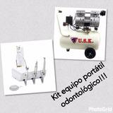 Kit Equipo Modular Portátil Odontológico
