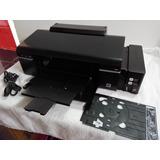 Impresora Epson L800 (6 Tintas Originales) + Bandeja Dvd