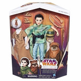 Star Wars Forces Of Destiny Princesa Leia Y Ewok Hasbro