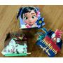 12 Cajas 3d Souvenir De Moana, Heihei Y Pua Cumple Candybar