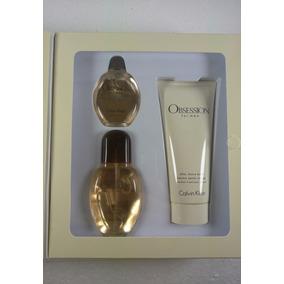 Perfume Calvin Klein Obsession Men (3 En 1)