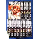 24 Tomos Manga Shingeki No Kyojin