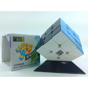 Cubo Rubik 3x3 Kung Fu Cara Negra (base Envío Gratis)