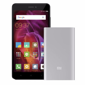 Celular Libre Xiaomi Redmi Note4 Gris + Power Bank 5000 Mah