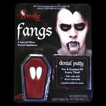 Dente De Vampiro Em Resina Para Fantasia Festa Halloween