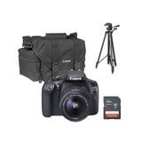 Canon T6 Kit Lente 18-55mm, Tripie, ,maleta,etc.