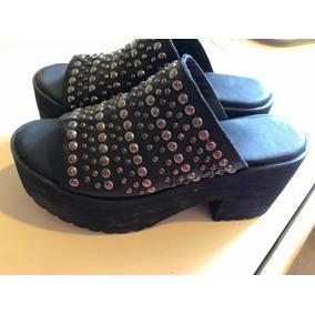 Zuecos Negros Ricky Sarkany - Zapatos de Mujer Negro en Mercado ... 415dfb2c03b