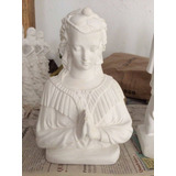 Imagens Religiosas Em Gesso ( Busto De Santa Sara 23cm)
