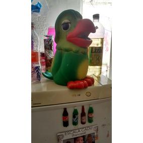 Papagaio Louro José 35 Cm Boneco De Borracha Antigo