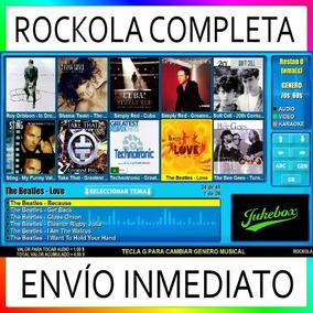Rockola Completa - Software + Contenido - Envío Por Email