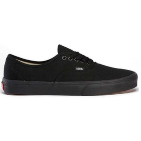 Tênis Vans Classic Authentic Black Black - Original + Nf