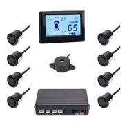 Sensor De Estacionamento Orbe Com Display Lcd Preto B075
