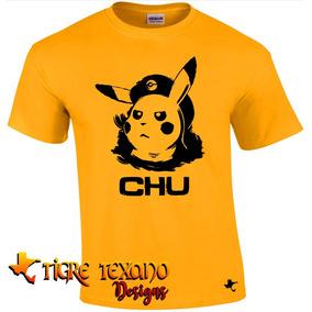 Playera Anime Pokémon Mod. 04 By Tigre Texano Designs