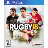 Rugby 18 Ps4 Fisico New Full Gamer