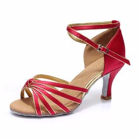 Tacones Zapatos Para Baile Tacón Hermoso Danza Bailar Latino