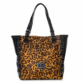 Spider Tote Camel Xl Extra Large Carteras Para Mujer.