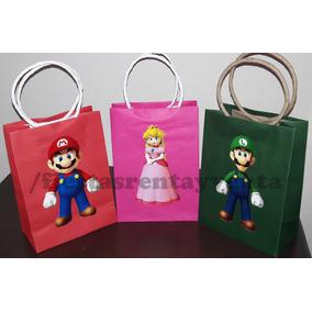 Bolsitas Para Dulces Mario Bros