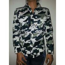 Camisas Tipo Columbia Unicolor Y Camuflaje