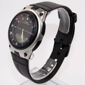 Aw-80 1av Relógio Casio Analógico Digital Agenda Telefonica