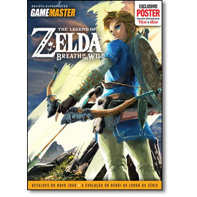 Revista Pôster Game Master - Zelda: Breath Of The Wild