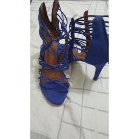 Sandalia Transado Azul Royal N* 37