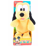 Club House Mickey Mouse Peluche Pluto En Caja 25cm Once