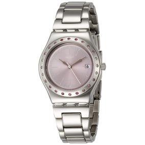 cf45ba8cec0 Swatch Irony Diaphane Pink - Relógios no Mercado Livre Brasil