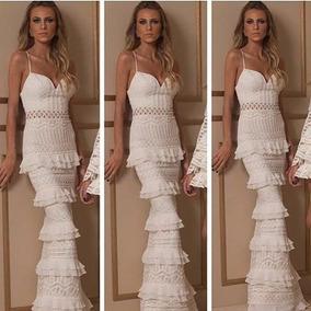 Vestido Longo Fabulous Agilitá Renda Maravilhoso! Novo