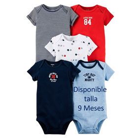 Pañaleros Carters Vip Ropa Bebé Niño 5 Piezas Envio Gratis!