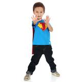 Camiseta Lelois Super-herói Personalizado