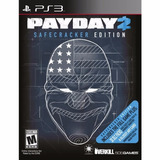 Payday 2 Safecracker Edition Ps3 Fisico Sellado Original Ade