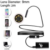 Endo Digital 30m Camara Mp Hd Distancia Sin Hilo Metal Wifi