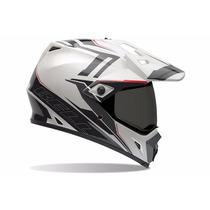 Capacete Motocross Bell Mx-9 Adventure Trilha Viseira