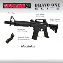Tippmann Alpha Black Marcadora Gocha Paintball Pistola Rifle