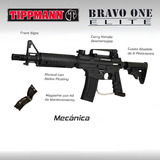 Tippmann Bravo One Marcadora Gotcha Paintball Pistola Rifle