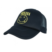Gorra Nirvana - Trucker Curva - Grunge Punk Rock