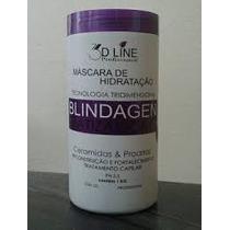 Máscara De Hidratação Blindagem Matizadora Loiro 3d Line