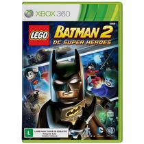 Lego Batman 2 Videogame Pt-br Xbox 360 Mídia Física Lacrado