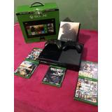 Vendo Xbox One De 500gb Con Todos Sus Accesorio