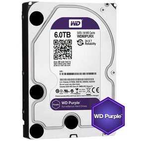 Disco Duro Western Digital Purple 6 Tb Videovigilancia
