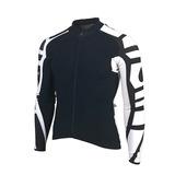 Camisa Manga Longa Ciclismo C/ziper Fita Silicone Bike Tam G