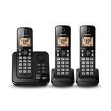 Telefono Panasonic Inalámbrico 2 Auxiliar Muchas Funciones