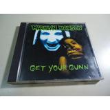 Marilyn Manson - Get Your Gun - Cd Single , Made In Usa
