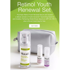 Murad Retinol Youth Renewal Set¨. Acido Hialuronico Original