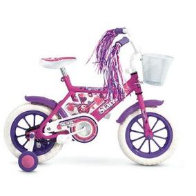 Bicicleta R-12 Stark Nenas Rueditas De Aprendizaje Y Canasto