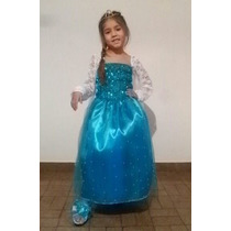 Disfraz Vestido Princesa Elsa (frozen)